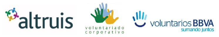 Identidad visual corporativa de los programas de voluntariado corporativo