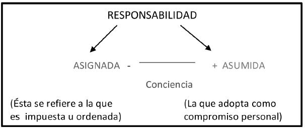 Tipos de adopción de la Responsabilidad